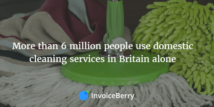 With 6 million cleaning customers in Britain alone, the market is ripe for more knowledgeable and professional cleaners