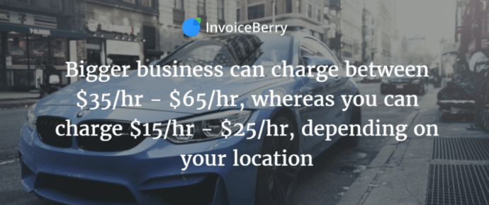 It's important to set good rates for your driving business