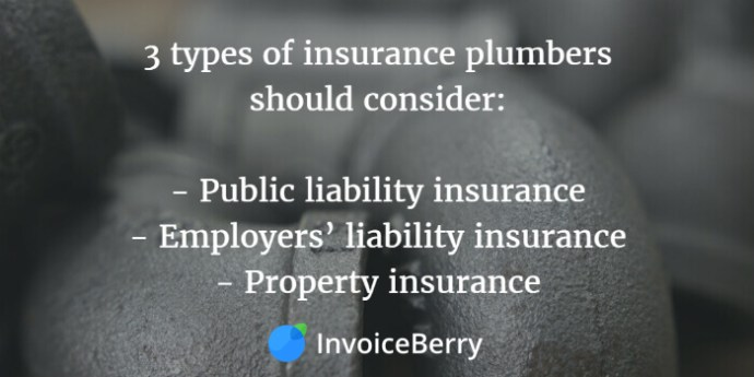 These are the types of insurance you should consider for your plumbing business