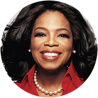 Oprah Winfrey is a household name around the world