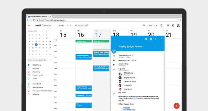 Google-Calendar-TIme-Management