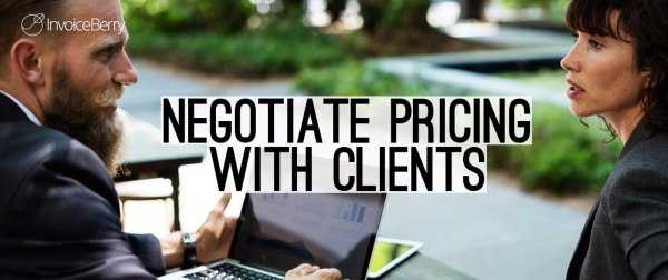 These are the best tips on how to negotiate pricing with clients