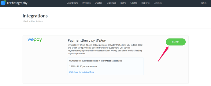 PaymentBerry is an alternate payment method operated by WePay