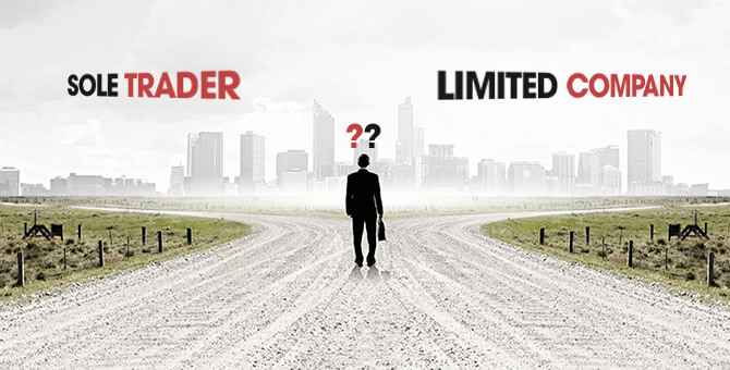 Deciding when to make the change from a sole trader to a limited company.