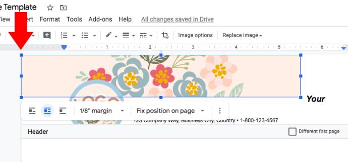 fix-position-google-docs-invoice