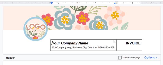 resize-border-google-docs-invoice