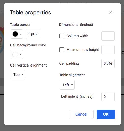 table-properties-google-docs-invoice