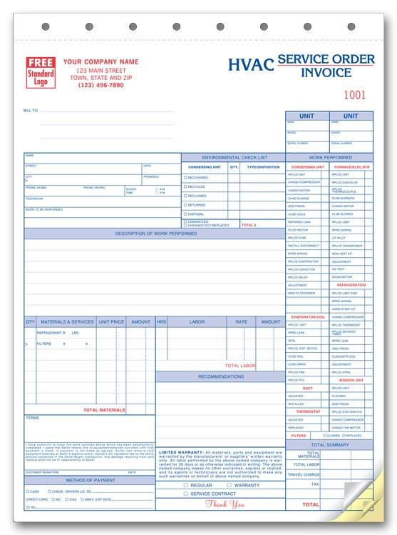 service order invoice template