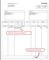 Quickbooks Invoice Template Excel | invoice example