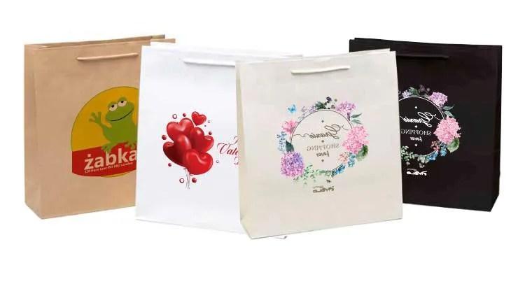 Shopper di carta lusso personalizzate BOUTIQUE