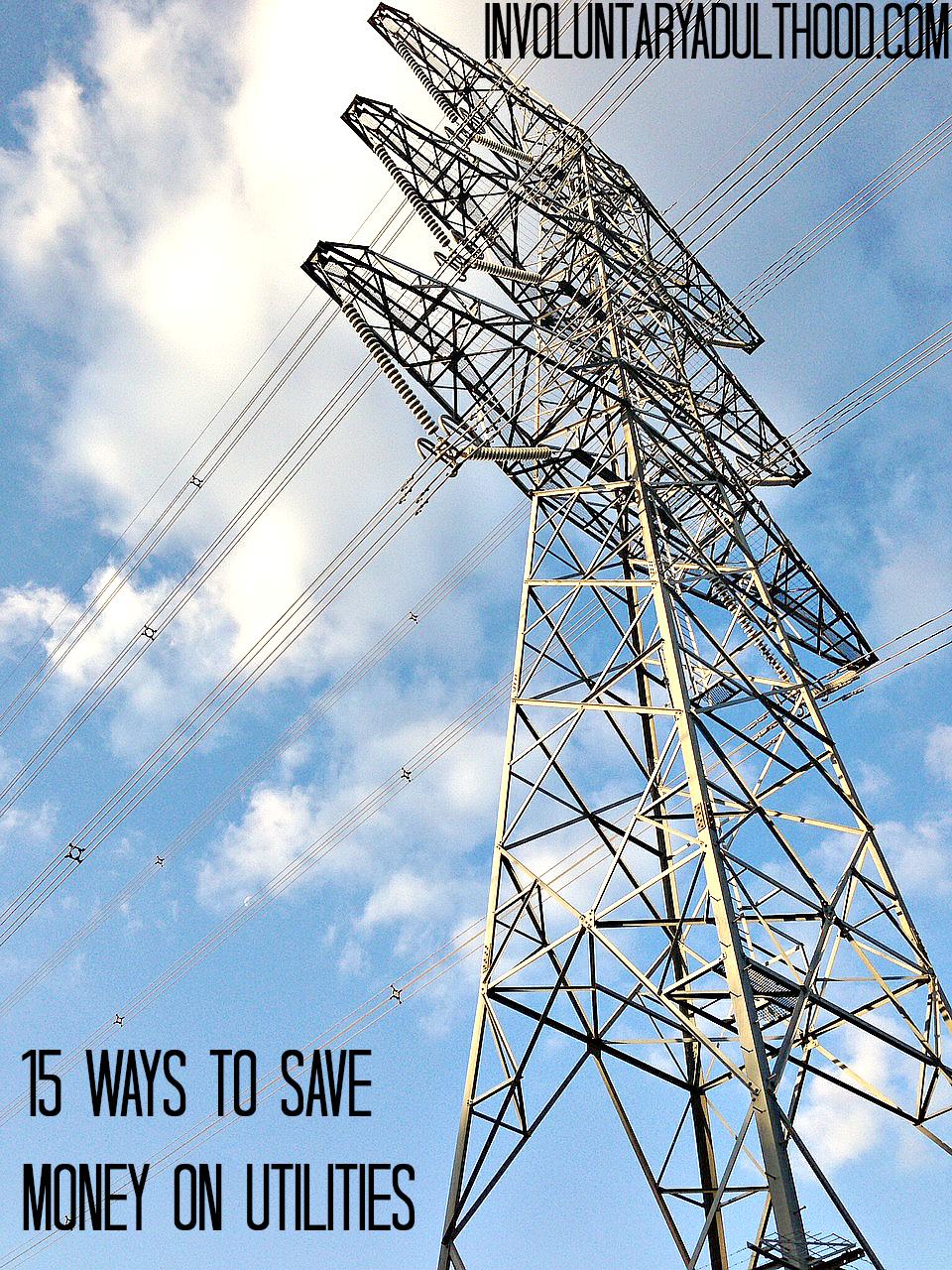 15 Ways to Save Money on Utilities