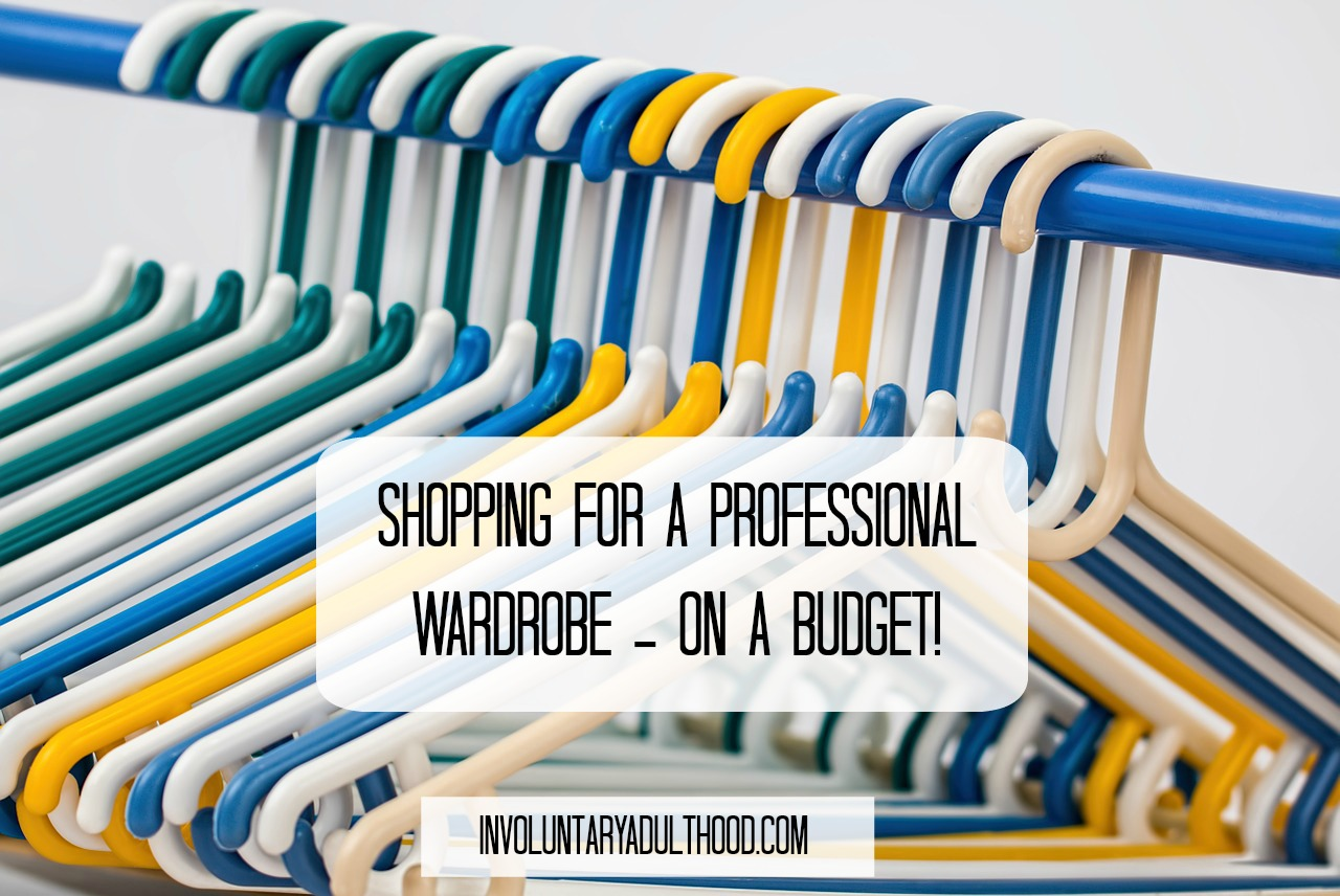 Shopping for a Professional Wardrobe – On a Budget!