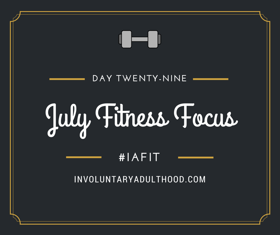 #IAFit: Day 29 – Yoga for a Strong Core