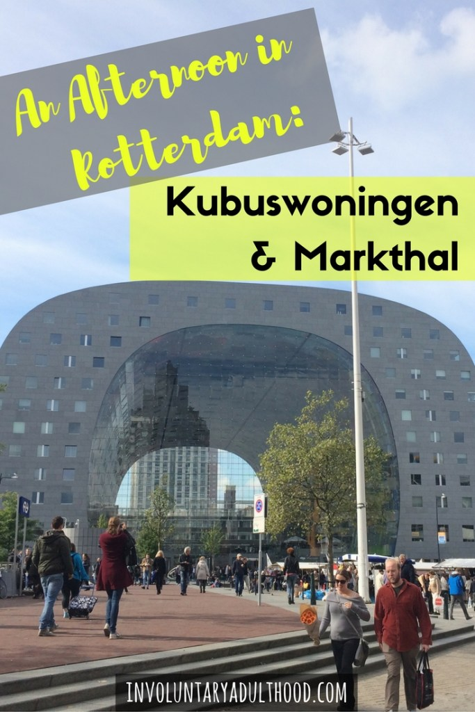 Slowly, I'm exploring my new surroundings and the cities closest to me. First up - Kubusoningen (Cube Houses) and Markthal (Market Hall) in Rotterdam.