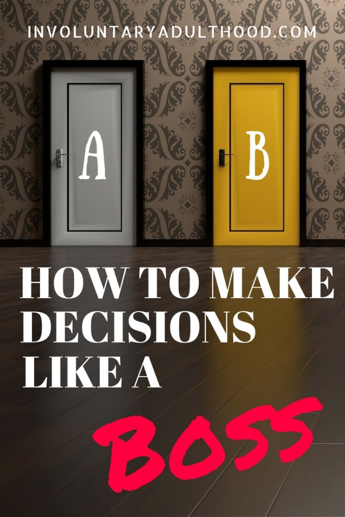 We have all been stuck between having to decide between different things, different paths, different choices. But how do we know which one is the best one?
