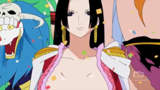 In what episode does Luffy meet Boa Hancock? [One Piece]