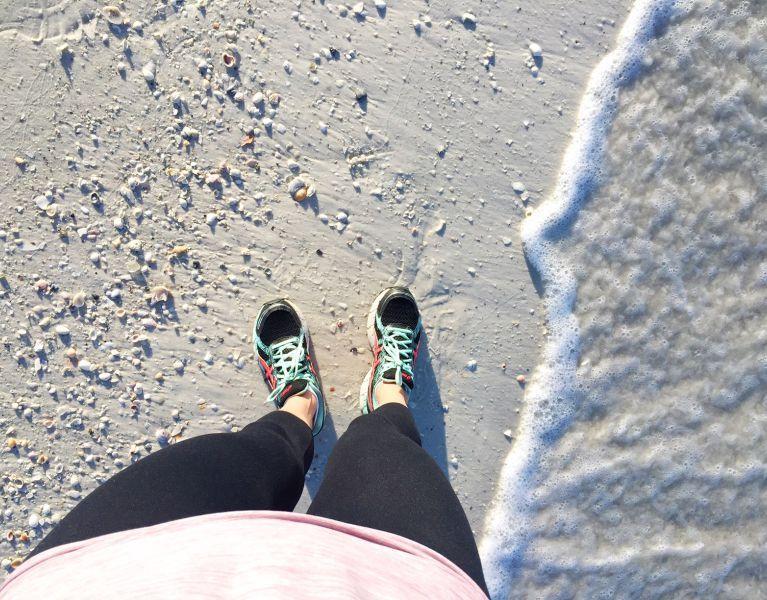 standing by ocean