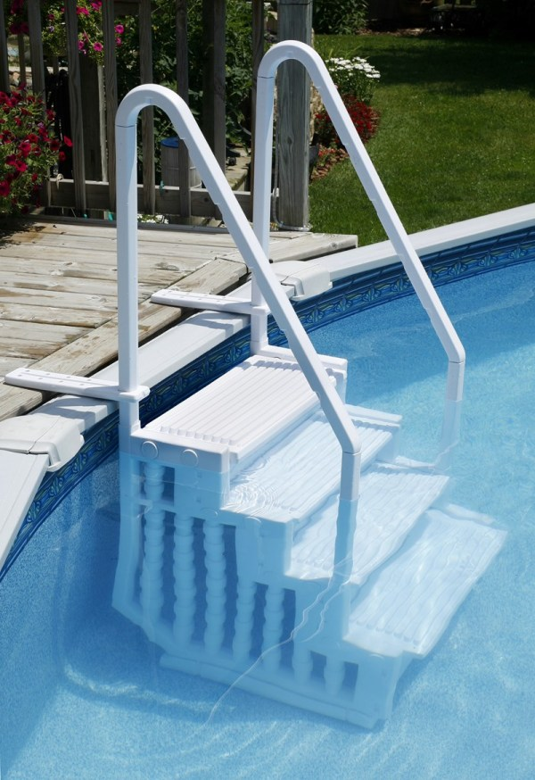 Choosing Ladder Steps Above Ground Pool