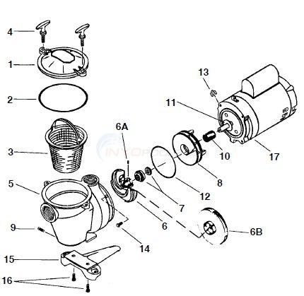 Pentair Whisperflo Pump Wiring Diagram, Pentair, Free