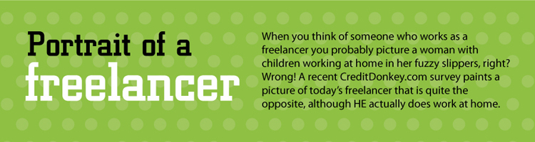 portrait of a freelancer