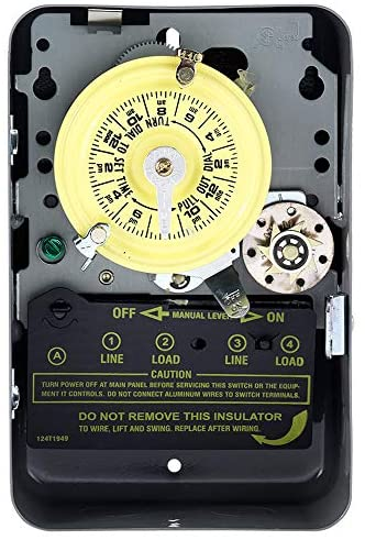 Intermatic T175 24 Hour 125-Volt Time Switch with Type 1 Indoor Enclosure, Color