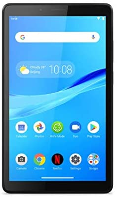 Lenovo Tab M7 17,8 cm (7 Zoll, 1024×600, WSVGA, WideView, Touch) Tablet-PC (Quad-Core, 1GB RAM, 16GB eMCP, Wi-Fi, Android 9) schwarz
