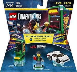 Midway Retro Gamer Level Pack – Lego Dimensions by Warner Home Video – Games