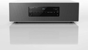 Panasonic SC-DM504EG-W Micro HiFi in weiß (40 Watt RMS, Digital DAB+, CD, UKW, Bluetooth, USB, AUX)