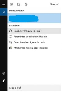 Mises A Jour Windows 10