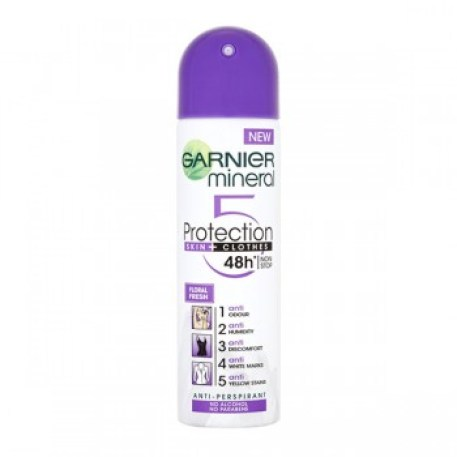 garnier_mineral_protection_skin___clothes_48h_floral_fresh_non_stop_anti_perspirant_150ml_east_end_cosmetics