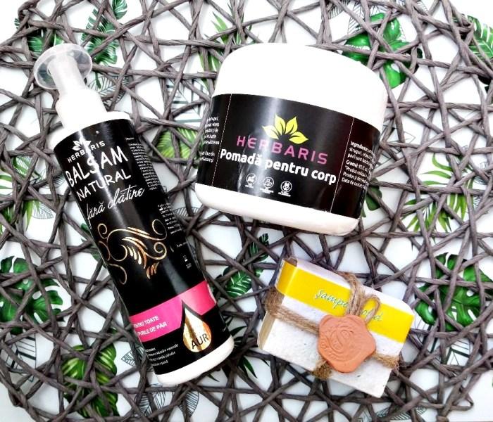 Review produse de haircare și skincare Herbaris