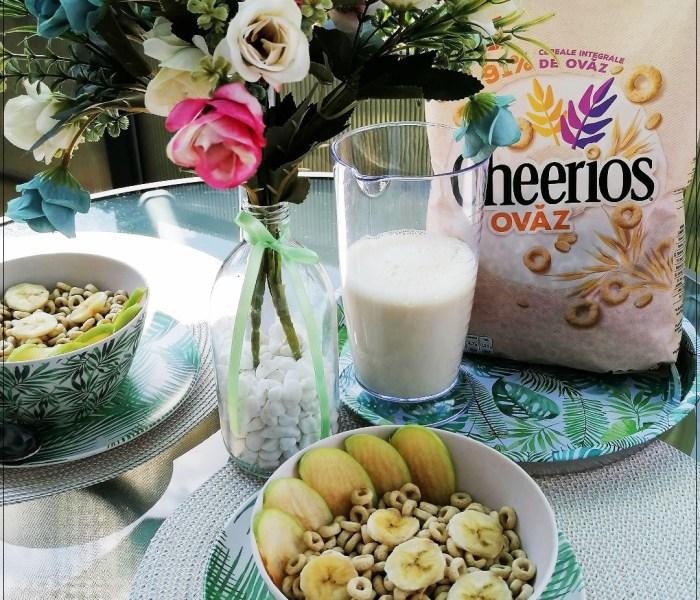 Cerealele Nestle Cheerios ovăz – mic dejun echilibrat