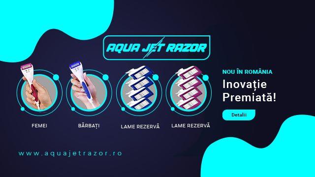 Aqua Jet Razor revoluționează depilarea și bărbieritul