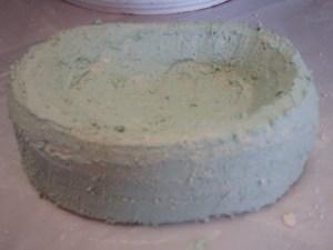 soap dish first coat tadelakt