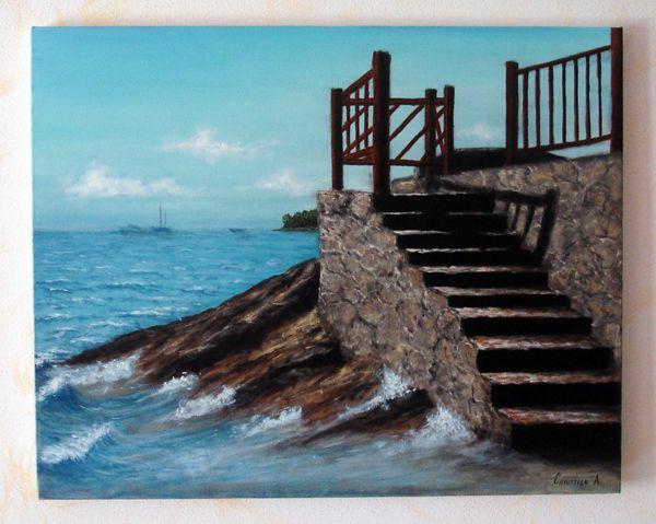 Paesaggio Marino  Opera darte di Anstyle