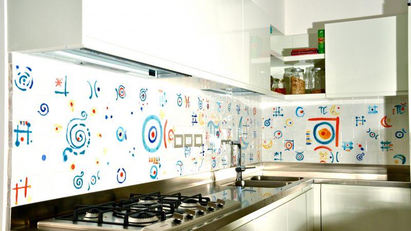 Pitturare piastrelle cucina idee per la decorazione d for Pitturare piastrelle cucina