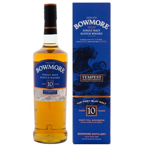 Bowmore 10 Tempest Batch 4 (OB, 2012, 55,1%)
