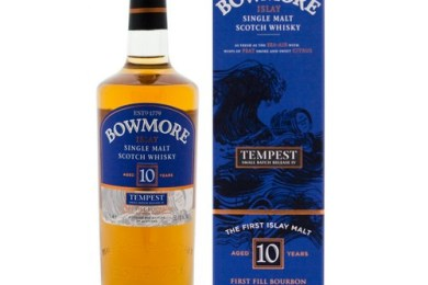 Bowmore 10 Tempest Batch 4 (OB, 2012, 55,1%)