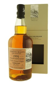 Glen Scotia 1991/2015 Leather-bound Ledger (Wemyss Malts, 2015, 46%)