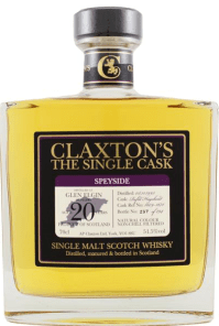 Glen Elgin 1995/2016 Claxton's Cask 1609-1671