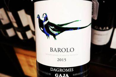 GAJA BAROLO DAGROMIS 2015