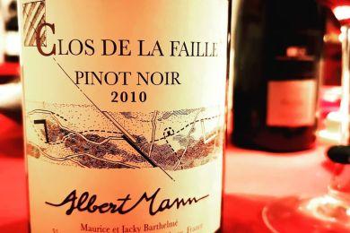 CLOS DE LA FAILLE ALBERT MANN 2010