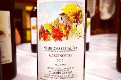 CLAUDIO ALARIO NEBBIOLO D'ALBA CASCINOTTO 2017