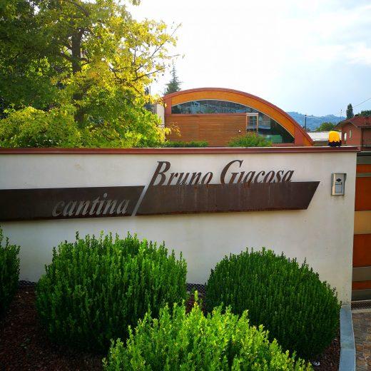 BRUNO GIACOSA - VISITA IN CANTINA