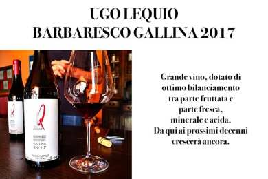 UGO LEQUIO BARBARESCO GALLINA 2017