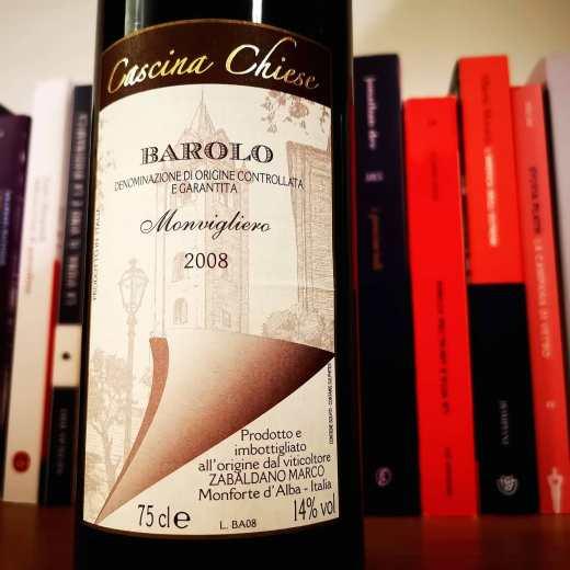 MARCO ZABALDANO CASCINA CHIESE BAROLO MONVIGLIERO 2008