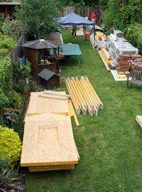 Materials for garden office