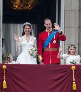 Solo Kate Middleton al royal wedding di Lady Gabriella Windsor