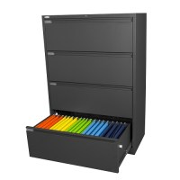 Steelco Lateral Filing Cabinet 3 Drawers