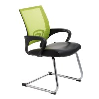 View Visitors Chair Green Mesh Back | i Office Furniture ...